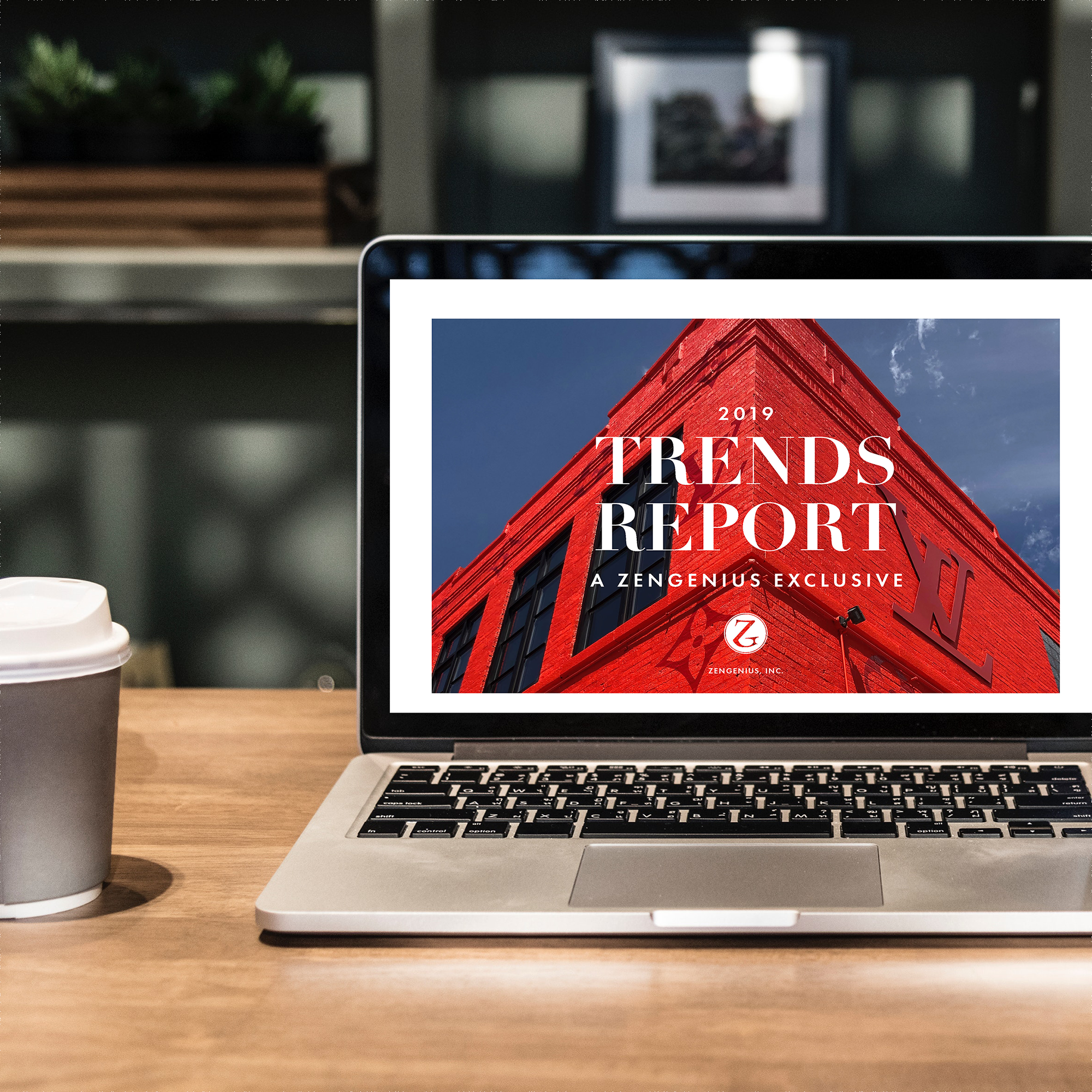 - Click the button and enter the code 2019TRENDSFREE at checkout to download your complimentary copy of our 2019 Trends Report.Browse through more than 125 pages to experience the energy of the industry and get ZenGenius' take on the latest trends seen in the world of retail and brand activations.