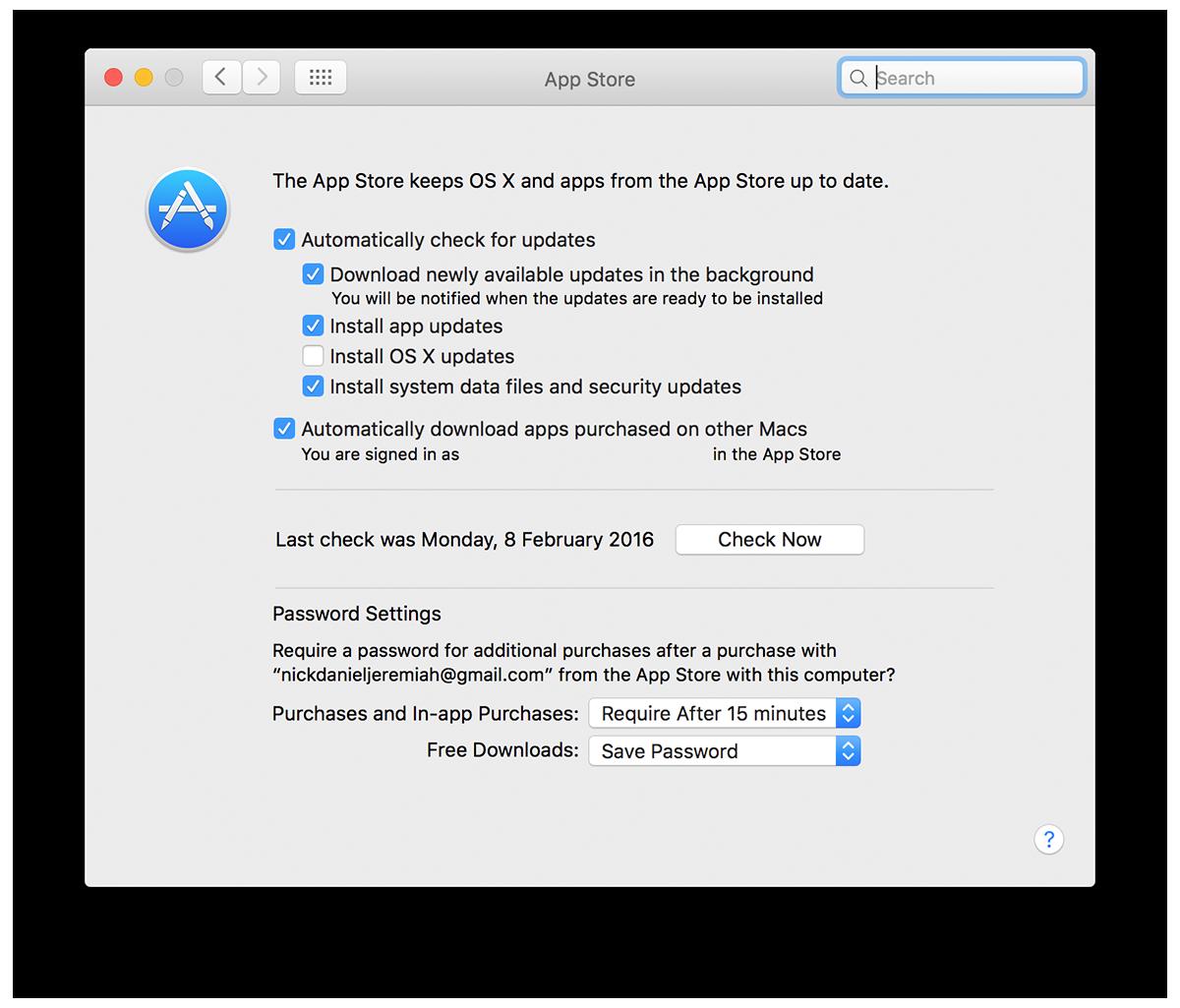 App Store Updates - Mac Maintenance | nickdjeremiah.com