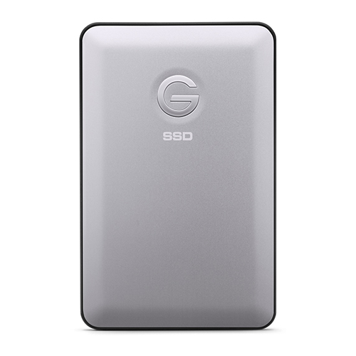 G-Technology 500GB Slim - • Solid State Drive (SSD)• USB C (3.1)If you're after a super fast portable storage option you cannot go past the G-Tech 500GB USB-C SSD. This isn't a rugged design though, so be careful with it. SSDs are less likely to break due to there being no moving parts, but it's still better to be safe than sorry.