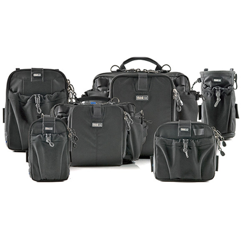 Anything from ThinkTank - ThinkTank Photo have a huge range of camera bags. Check out their website and see what you think. Many photography retailers around the world sell these bags. Visit your local store and see if they have one.