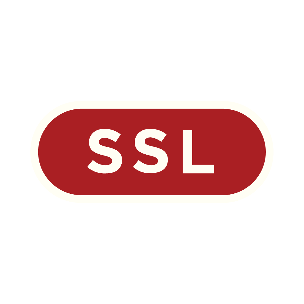 SSL Certificate - Every page and function of your website is secured by up-to-date SSL certificates allowing your visitors to browse and shop safely.