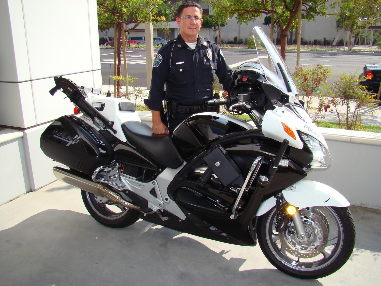 Motor Officer Andrew Garton