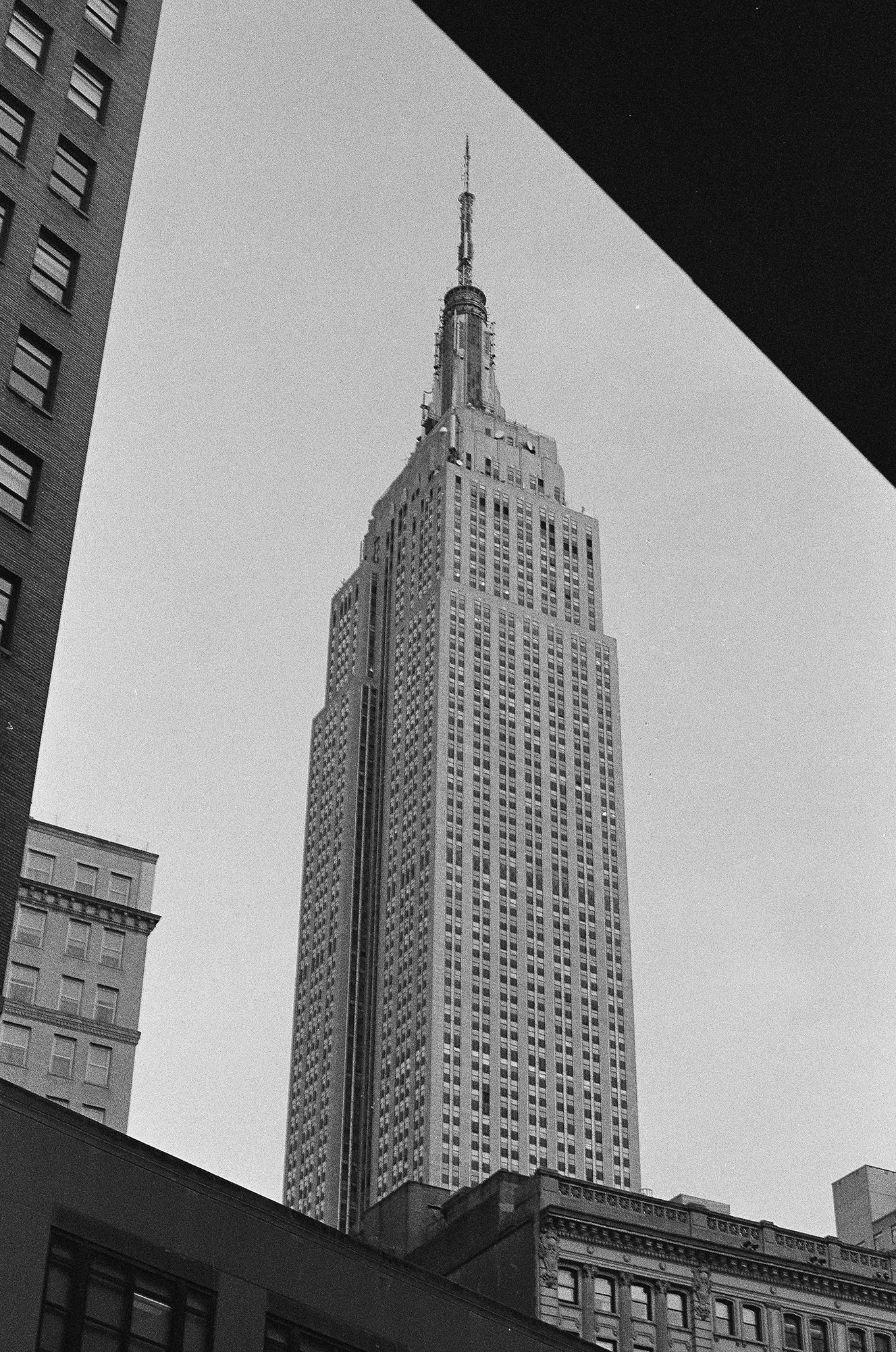 the empire state / Manhattan