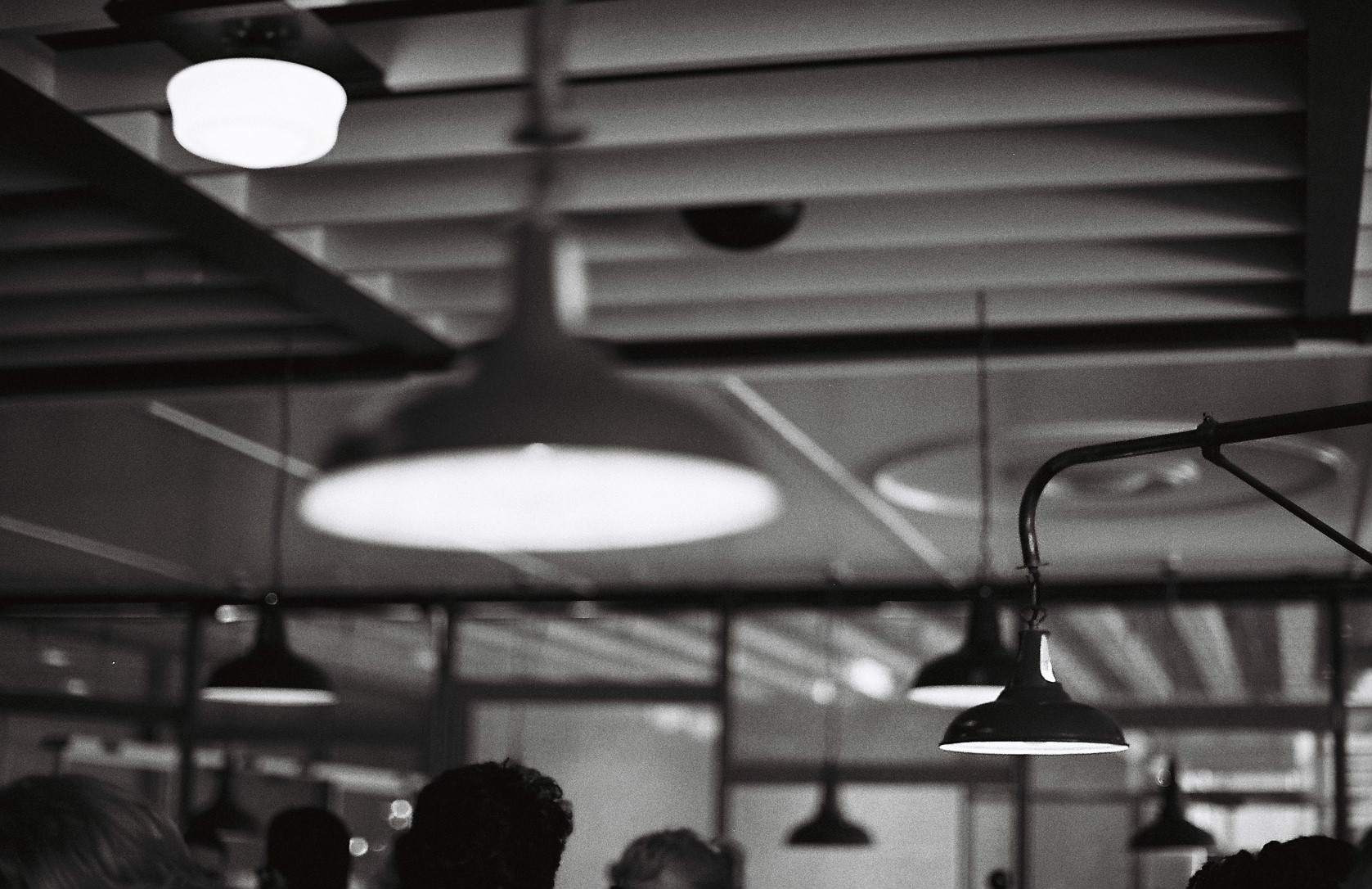 old lampshades / dishoom / granary square
