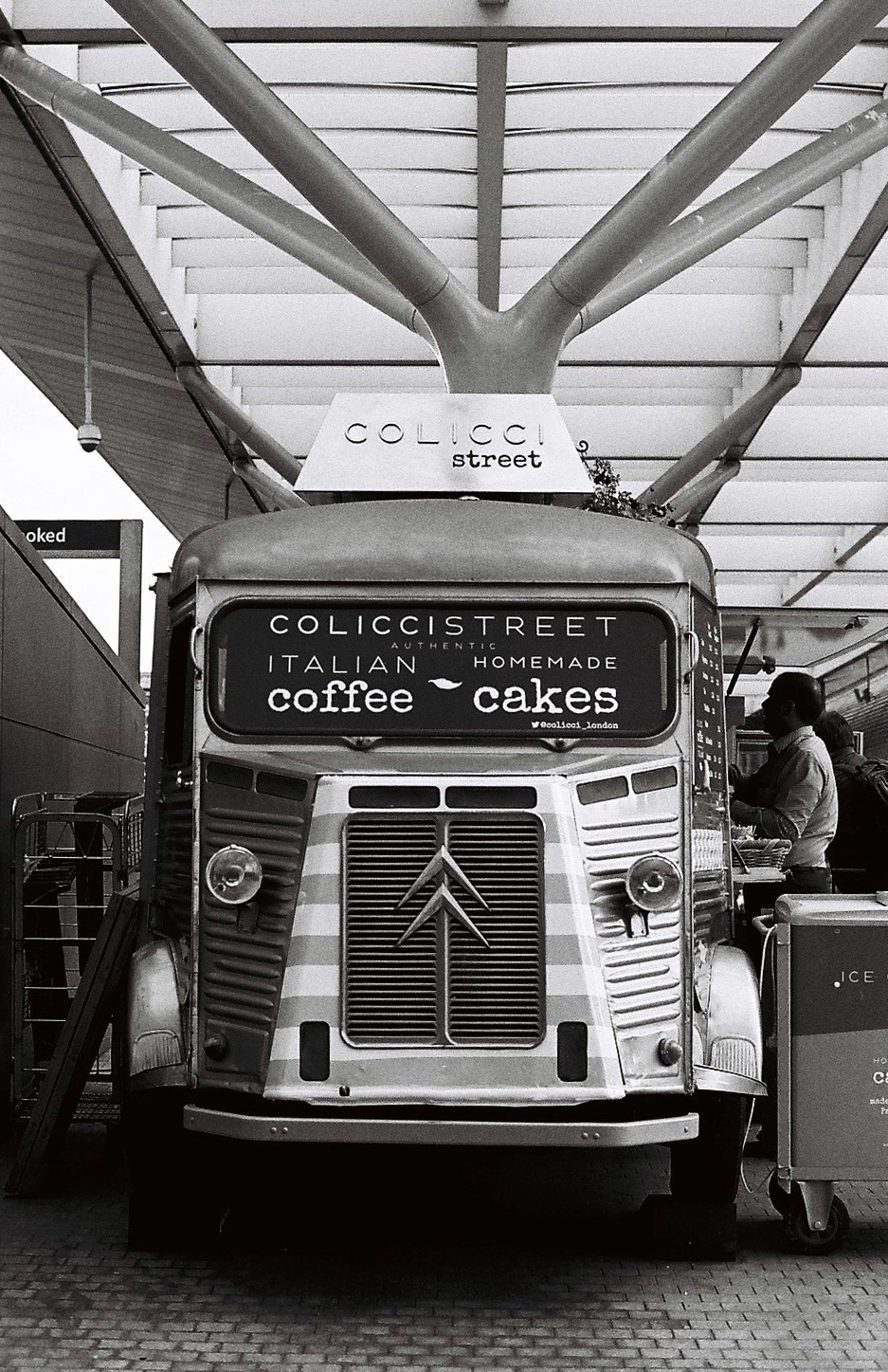 citroen food truck / paddington