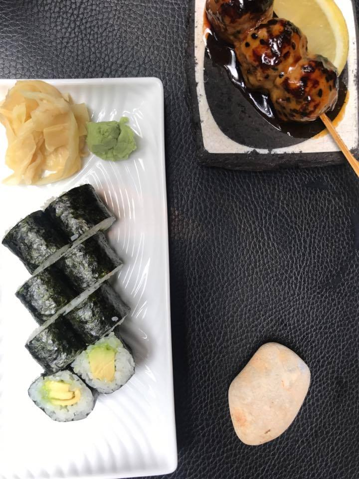 Went to a super chic and modern sushi place for lunch called  Sticks n' Sushi .