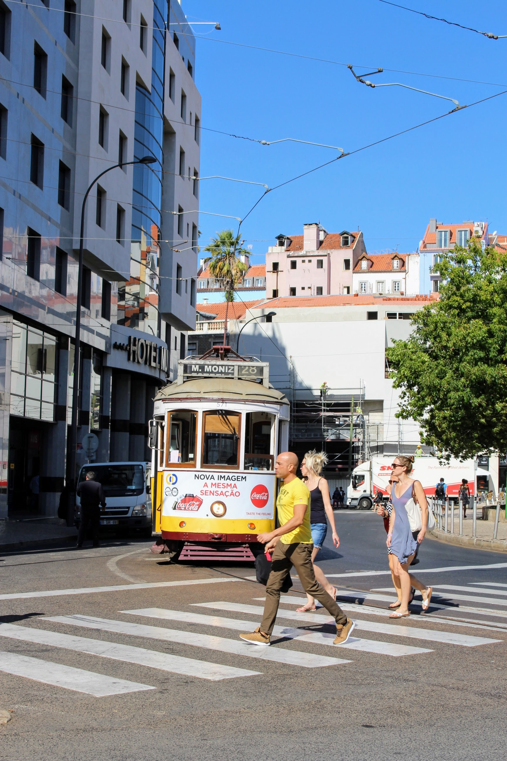The infamous Tram 28! Did you know Lisbon trams were originally called Americanos?