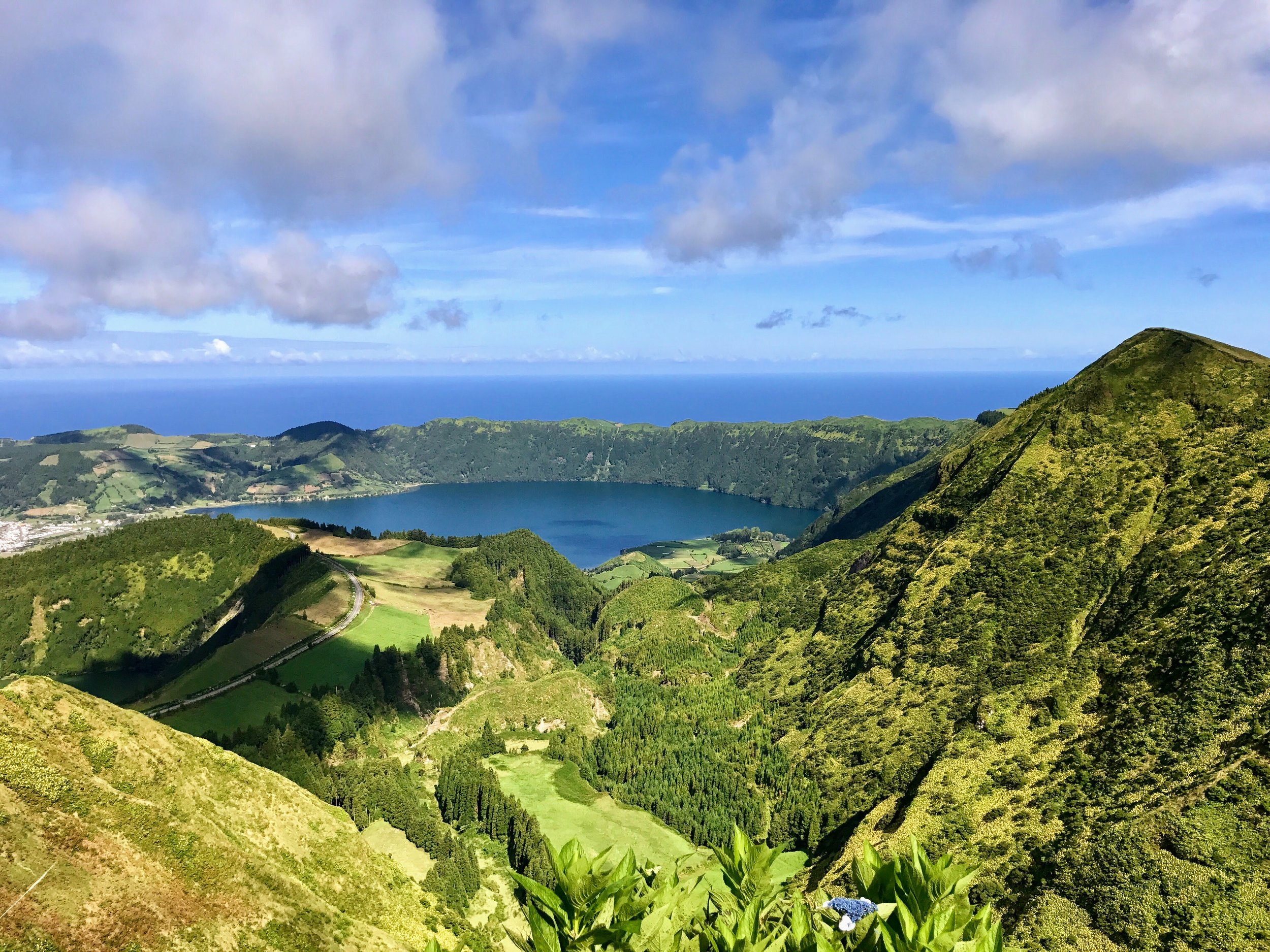 Going to  miradouro  was my top thing to do in Sao Miguel. This was one of the took my breath away moments. After the short hike to the top of this point, my jaw dropped. One of the most beautiful things I've ever seen.