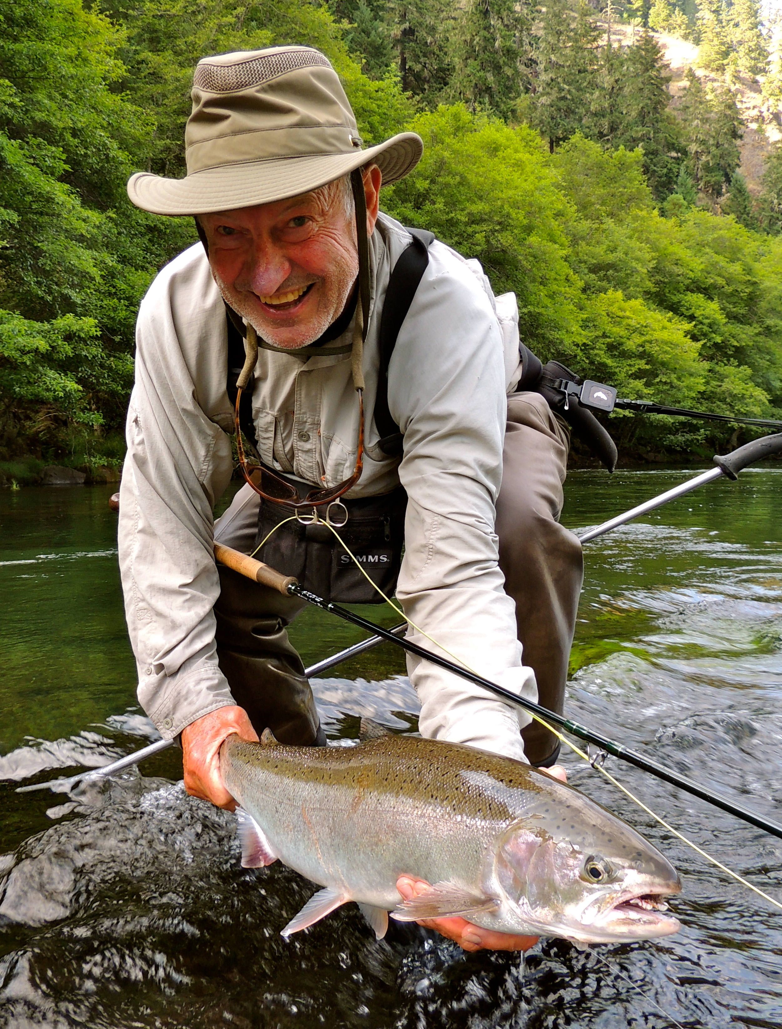 Fred Pendergast with a nice, bright beauty.