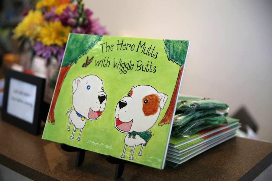 The Hero Mutts With Wiggle Butts -- Children's Book