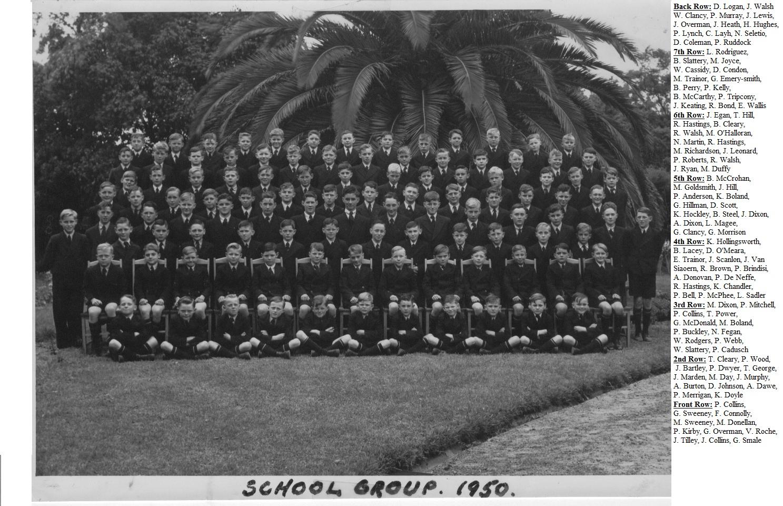 1950 School Group Marcellin