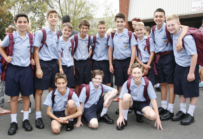 Year 7 first Day Marcellin