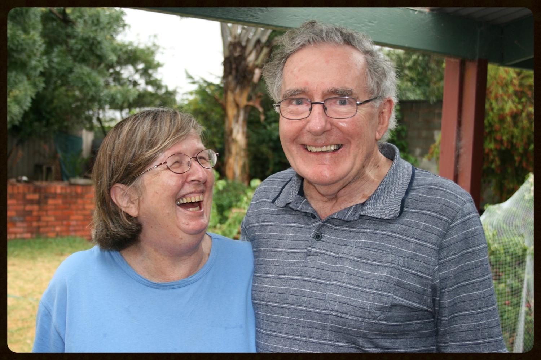 Brian and Margie, Home (Benalla), 2014