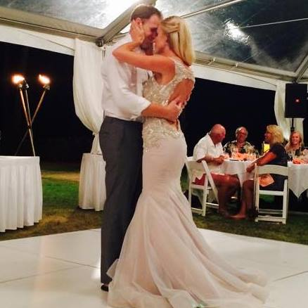 Our first dance: Into the mystic by Van Morrison