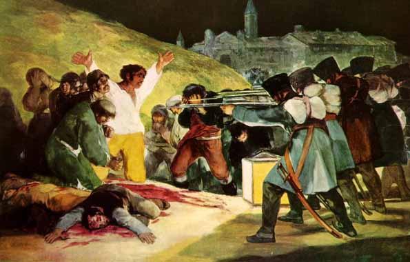 Francisco de Goya, El Tres de Mayo