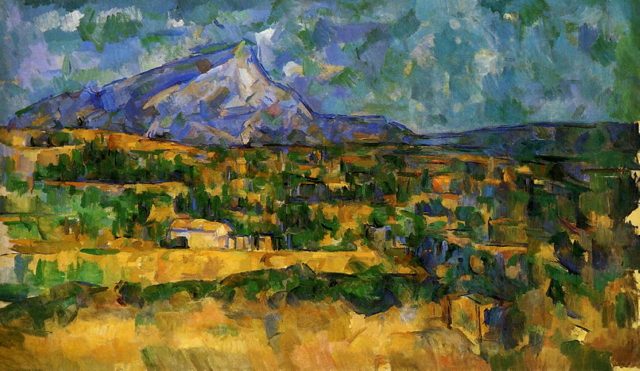 Paul Cezanne, Mont Sainte Victoire, 1906