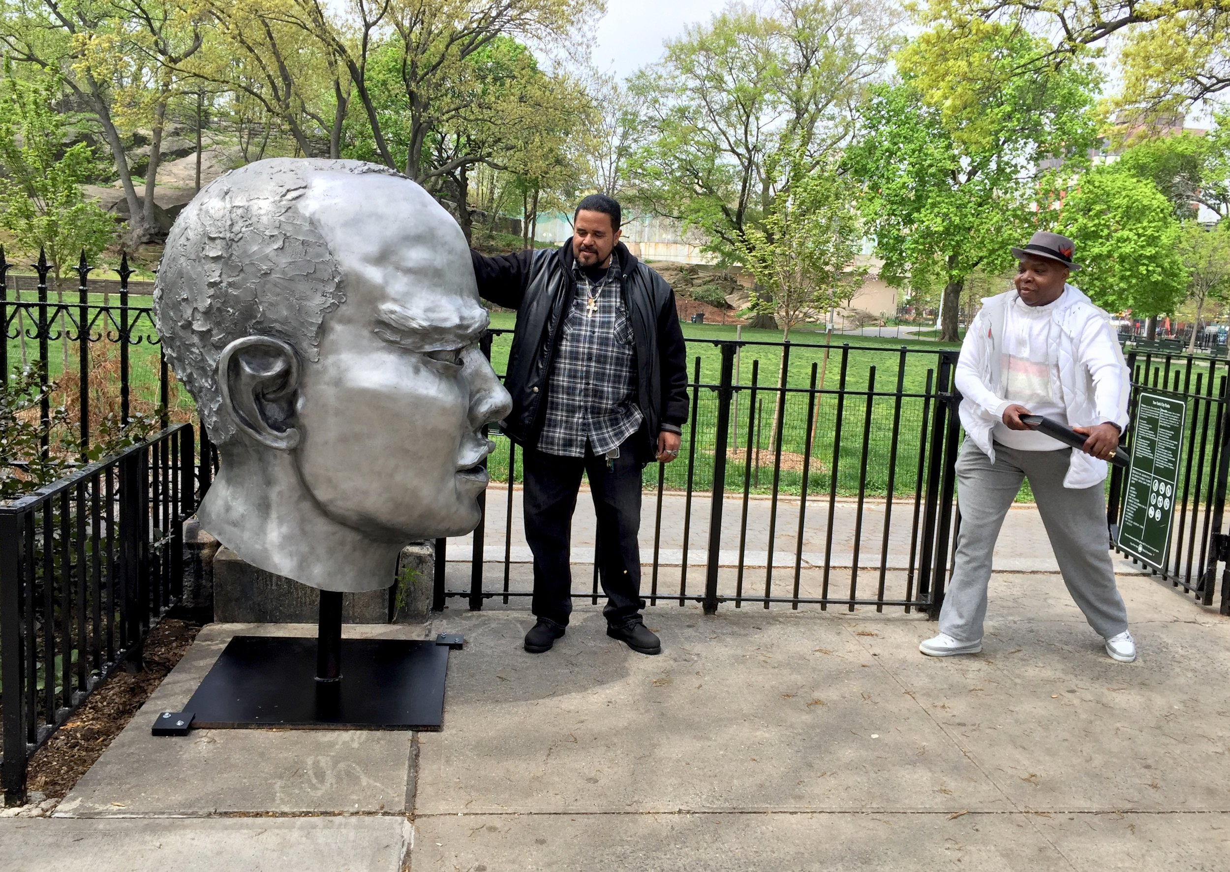 (E)Scape, Marcus Garvey Park, Harlem, NYC