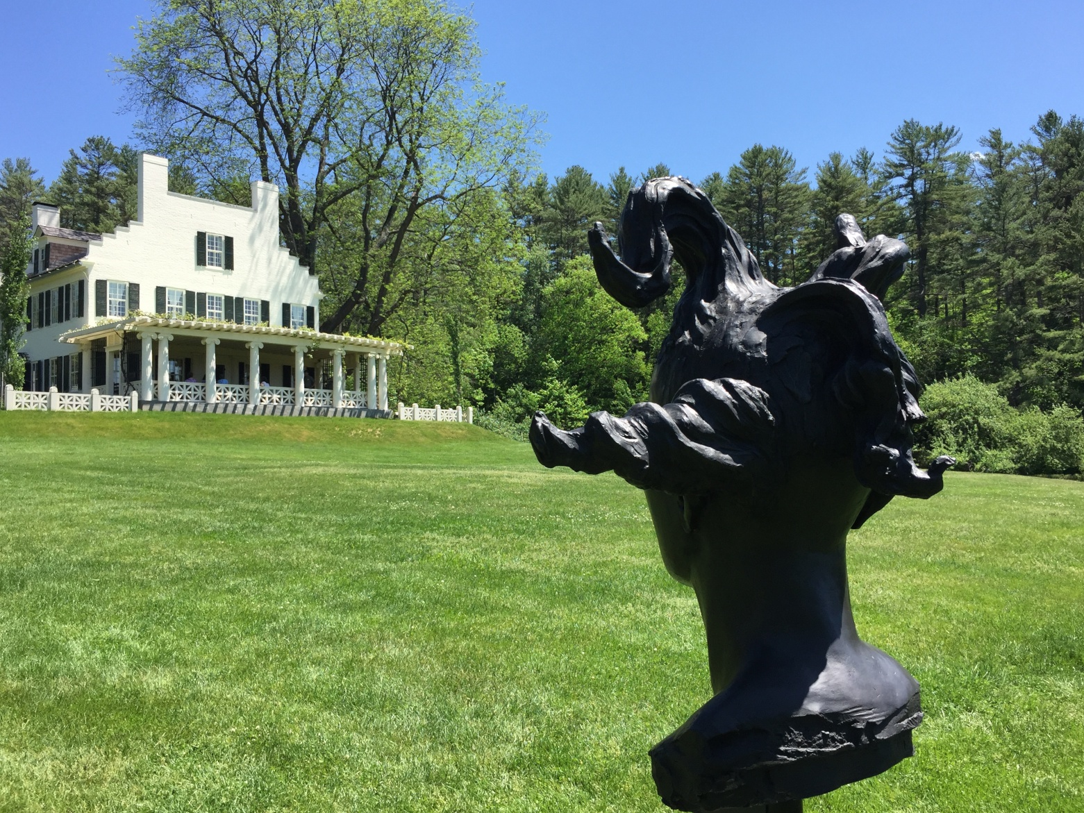 Emma (bronze) at St Gaudens National Monument, Cornish, NH