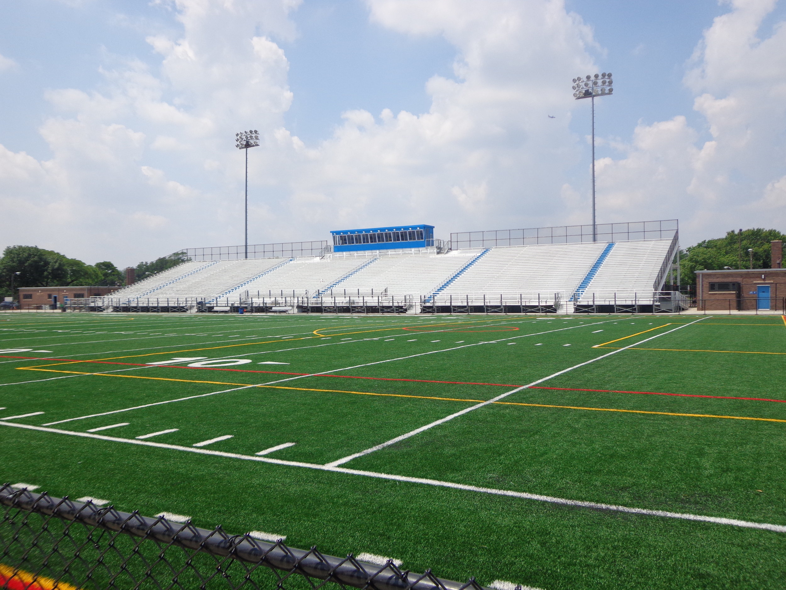 Gately Stadium, Pullman, IL where the All Schools Network Peace Rally will be held, June 7, 2019