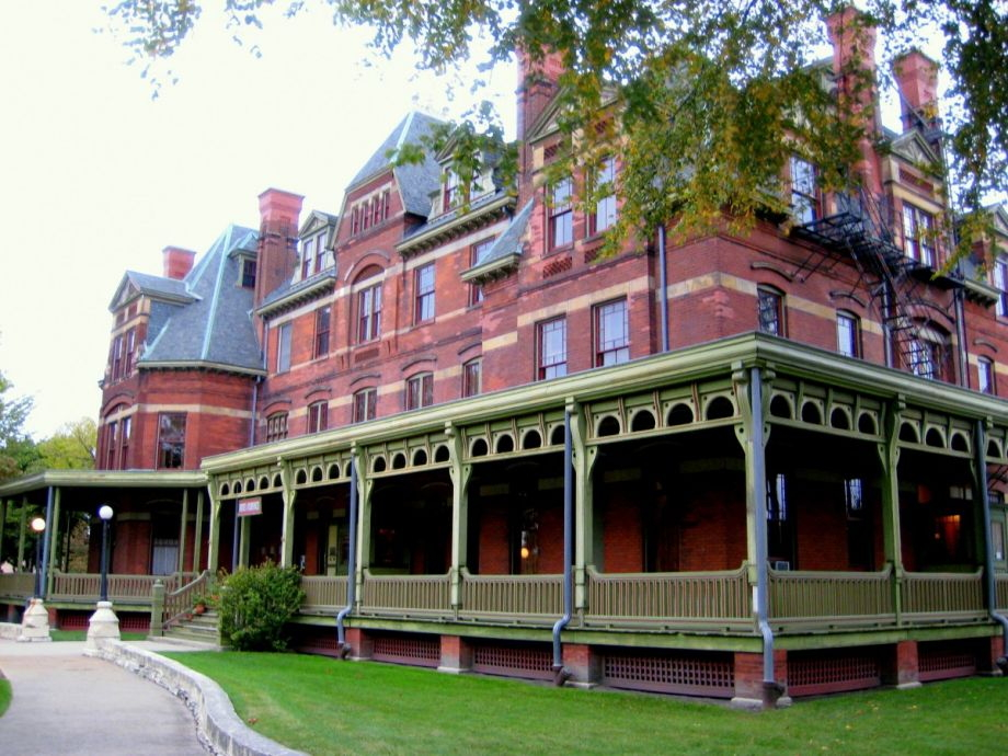 In restoration- the Hotel Florence in newly designated Pullman National Monument, Pullman, Chicago