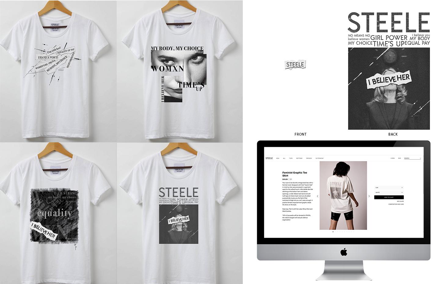 STEELE Graphic T