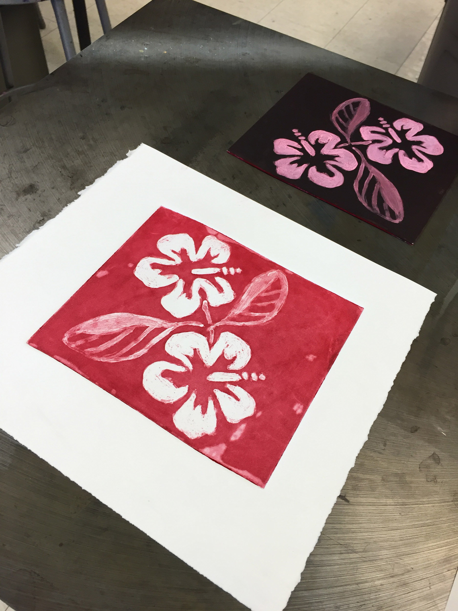 Silk Aquatint