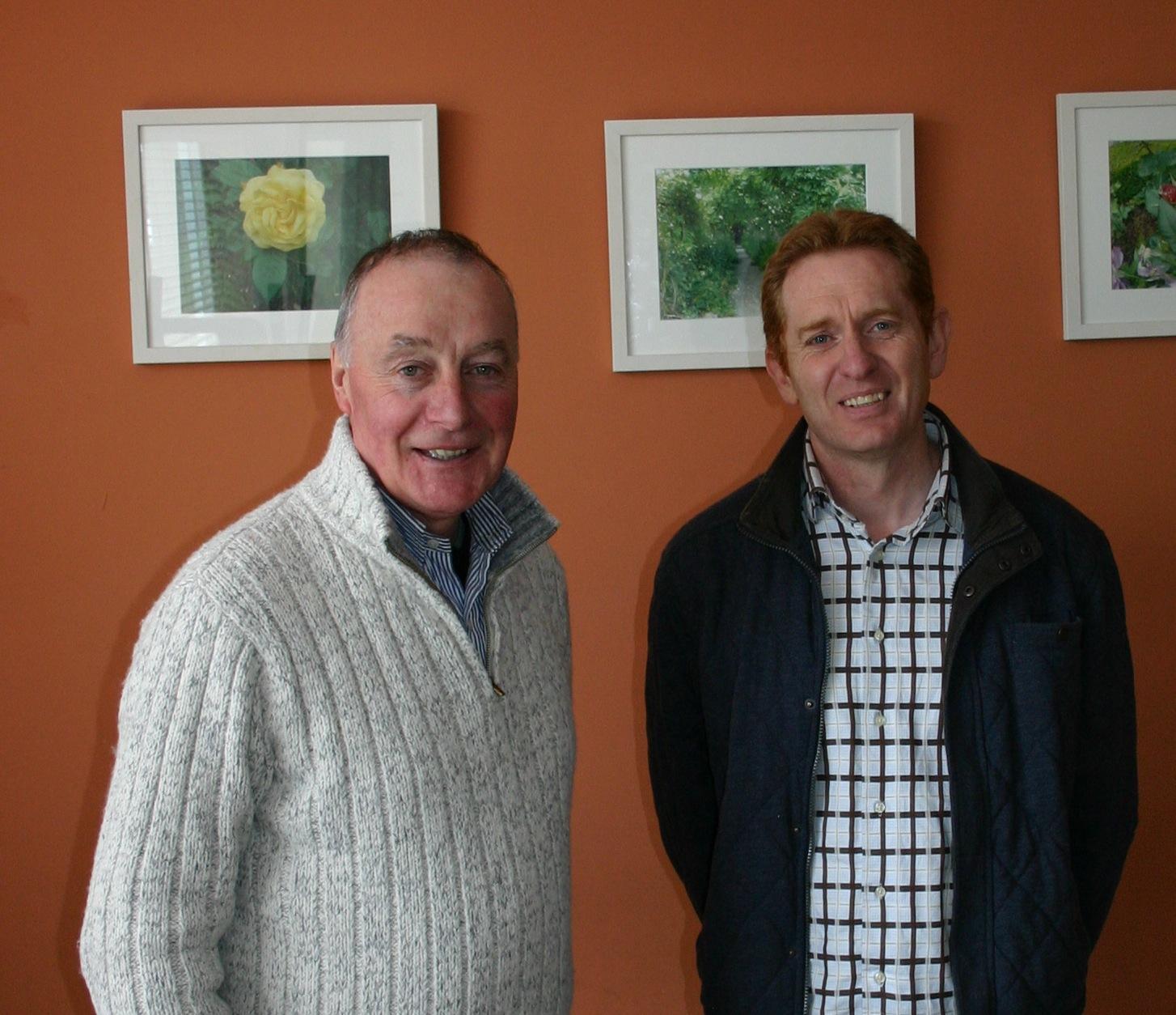 John and Andy who lead Kilkenny Community Church