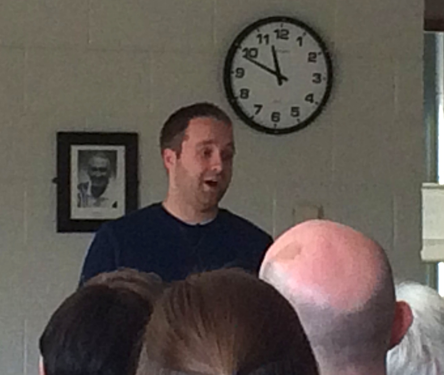 Steve Morris speaks on Living Generously