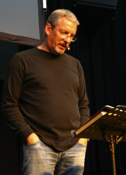 David Parker speaking on Thursday morning.