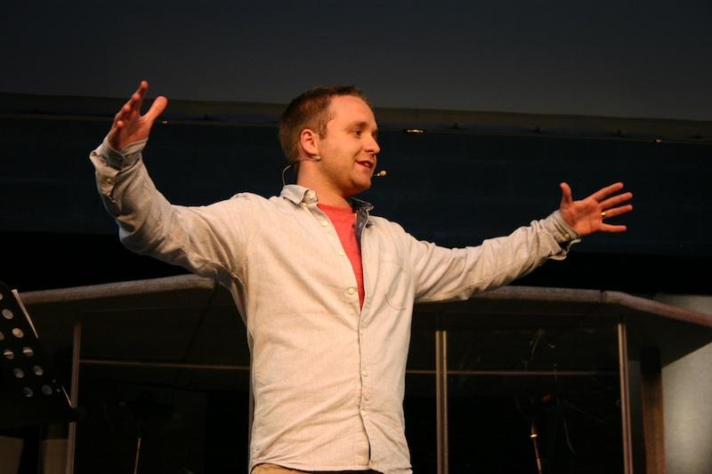 Steve Morris speaking at the Sligo Summer Conference on Thursday evening.