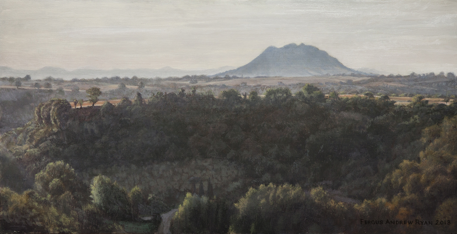 First Light, Monte Sorrate, oil, © Fergus A Ryan, 2013