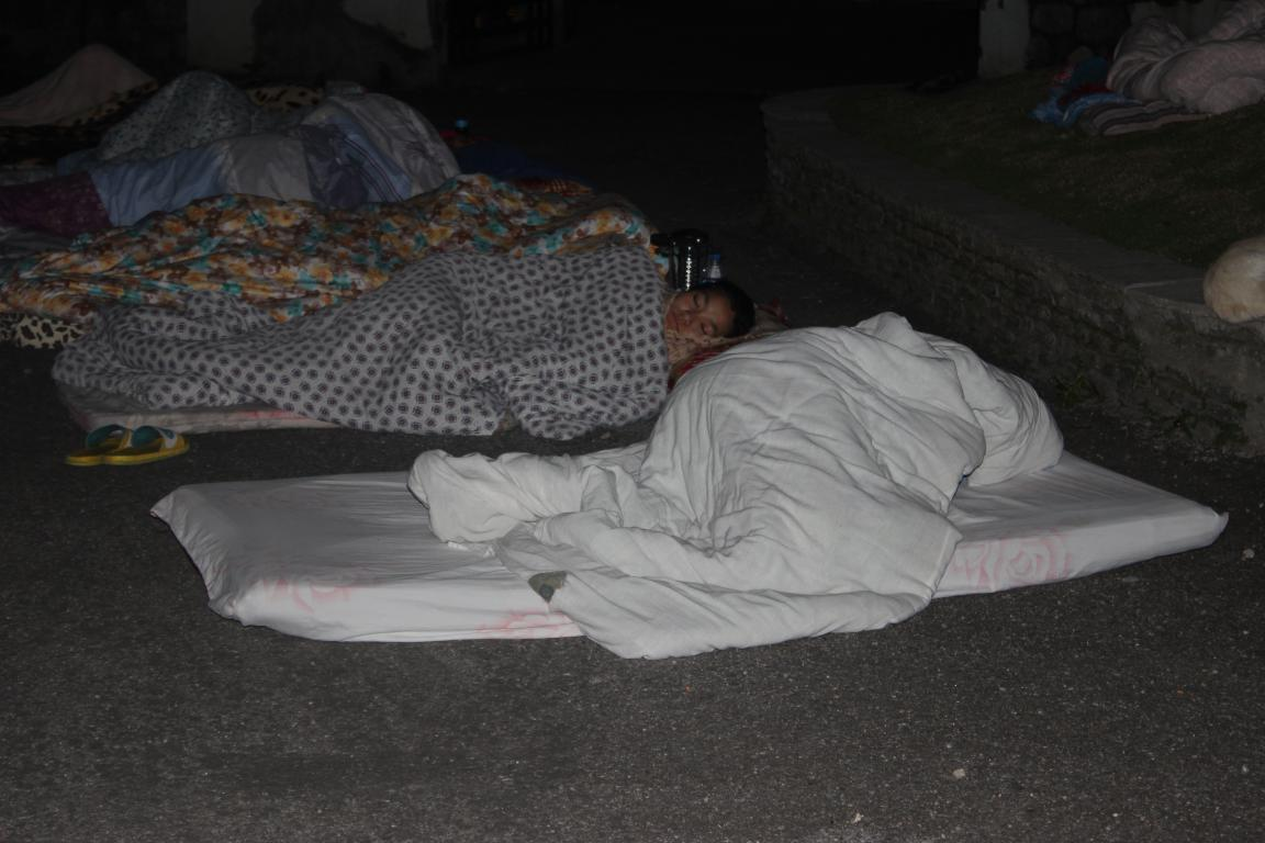 Our partner's family is working to save others but also sleeping in the streets.
