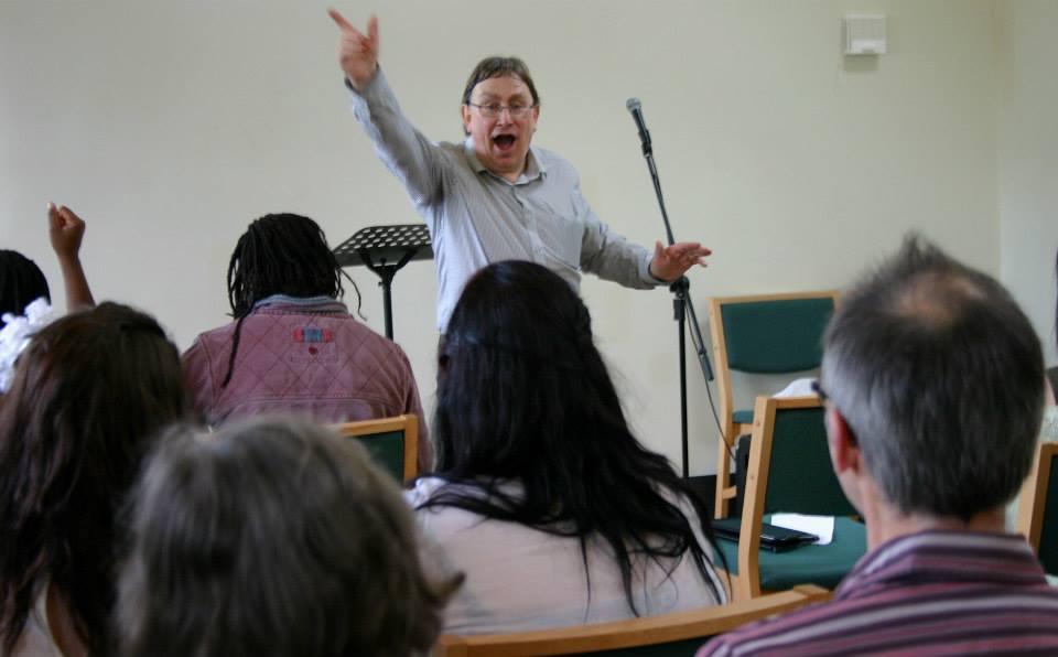 Psalm 136 as a Bible rap with Dr. Ken Baker.