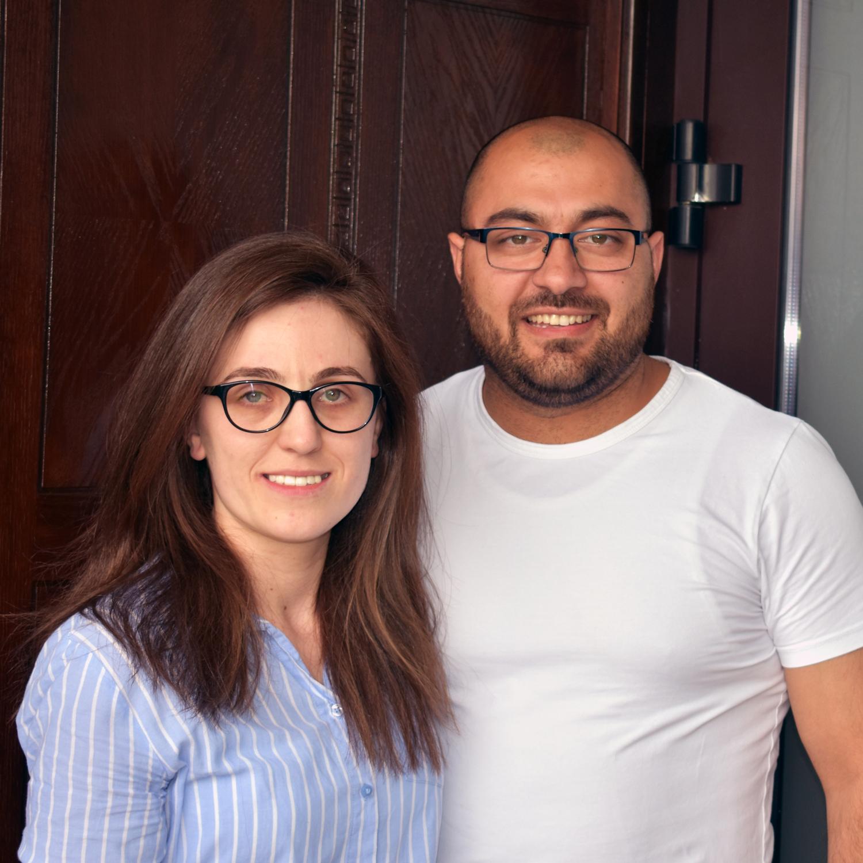 Tabitha and Bogdan