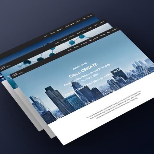 Responsive Web Design For Cisco Create