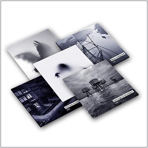 Mix CD cover art