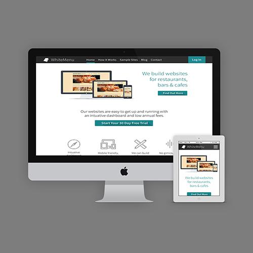 Whitemenu Website Design