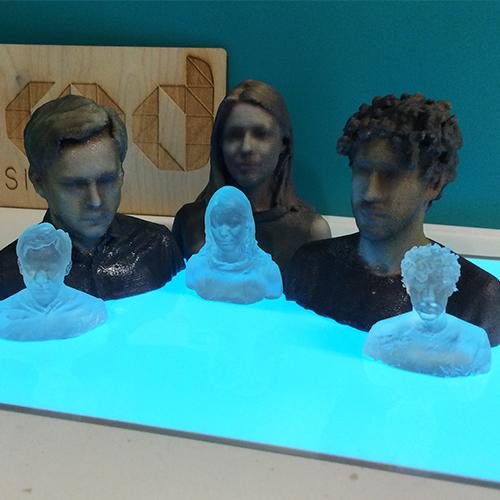 Studio Blackburn 3D Printed Heads