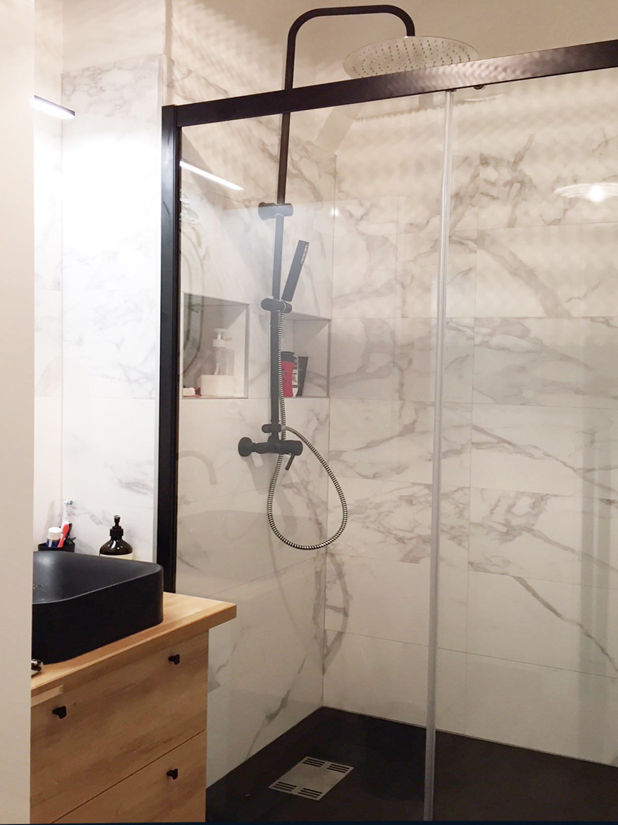 Creer Rangement Salle De Bain transformation d'une salle de bain — madame prune