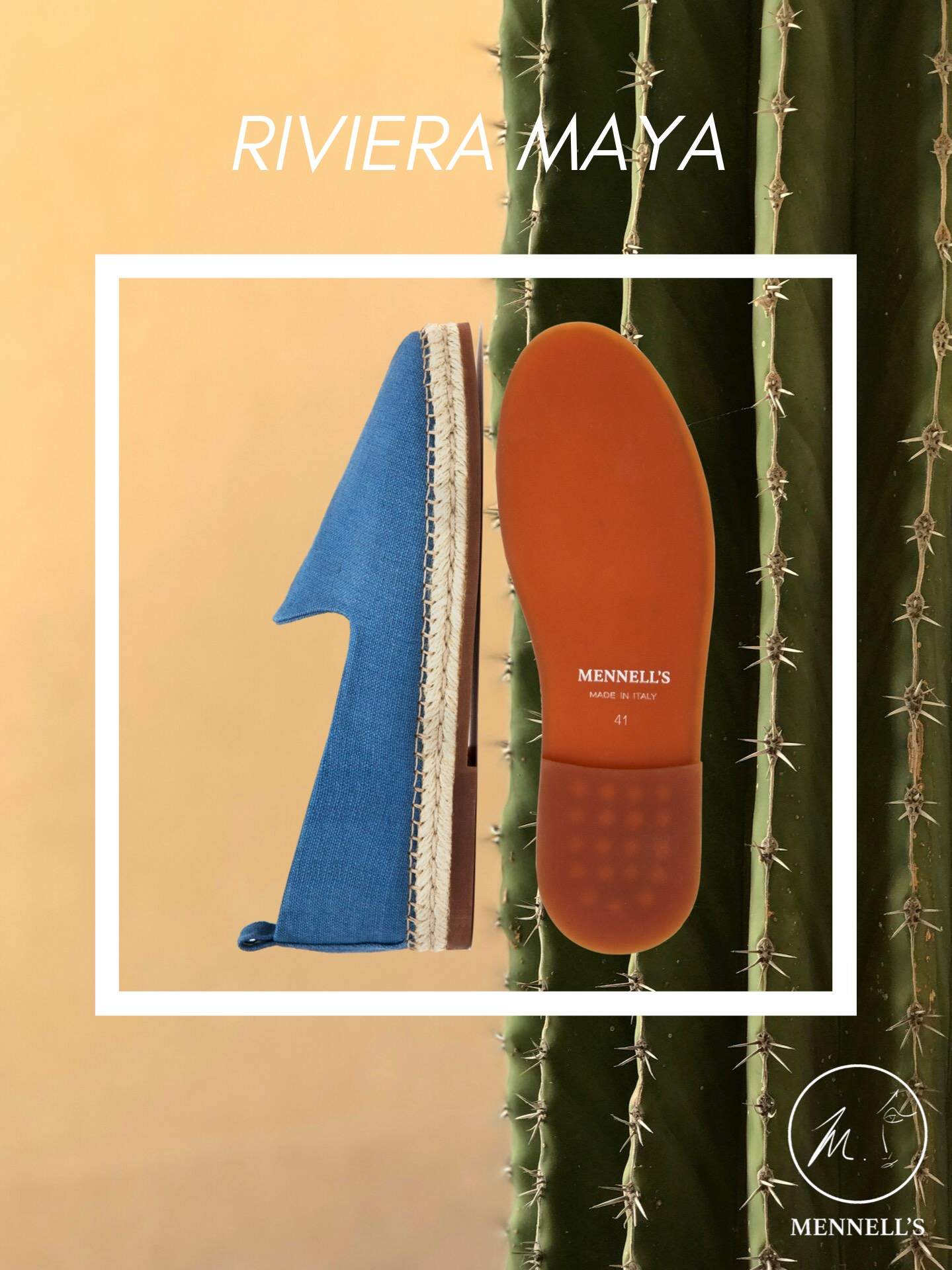 Mennell's Espadrilles Made in Italy