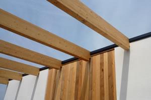 Render & Wood Panelling