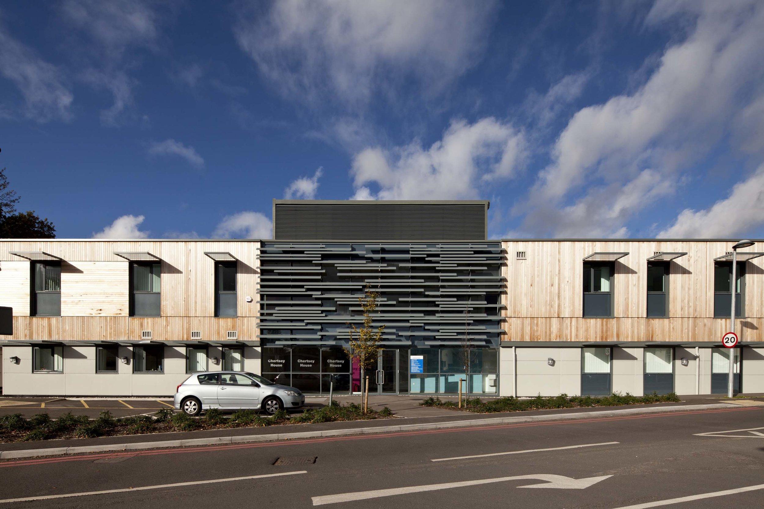 Ashford & St Peters Hospital, Chertsey, Surrey, London.    Read our case study