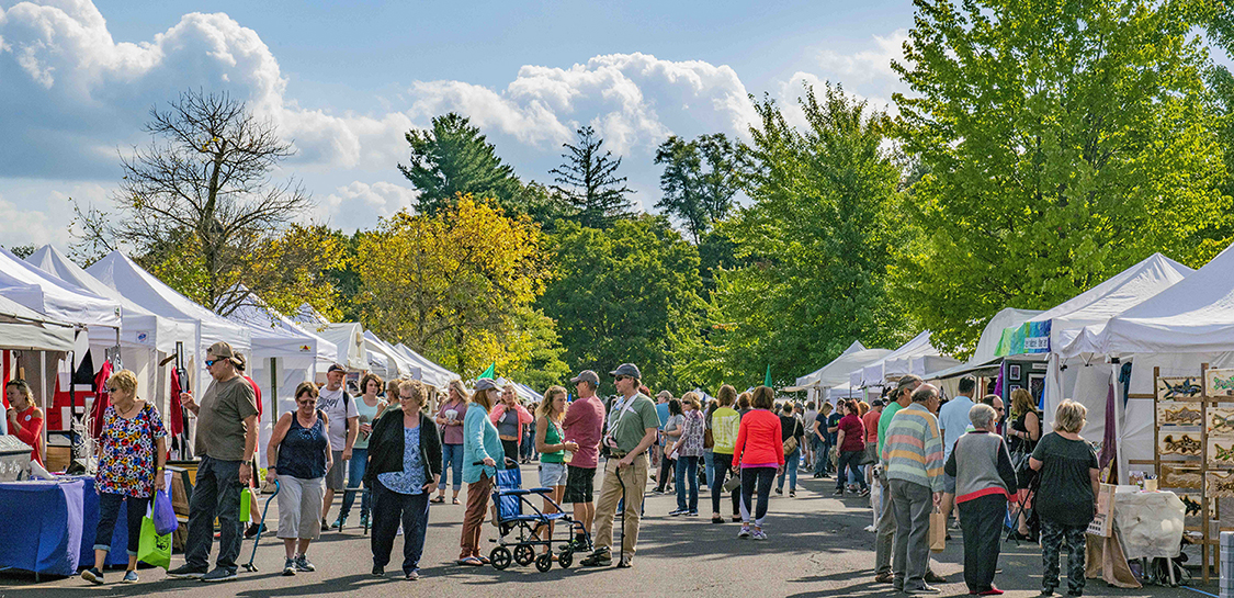 Blocks away from the Scenic Delaware River, The New Hope Arts & Crafts Festival offers a perfect way to spend an autumn day this September 28th & 29th. Photo by Kristina Gibb