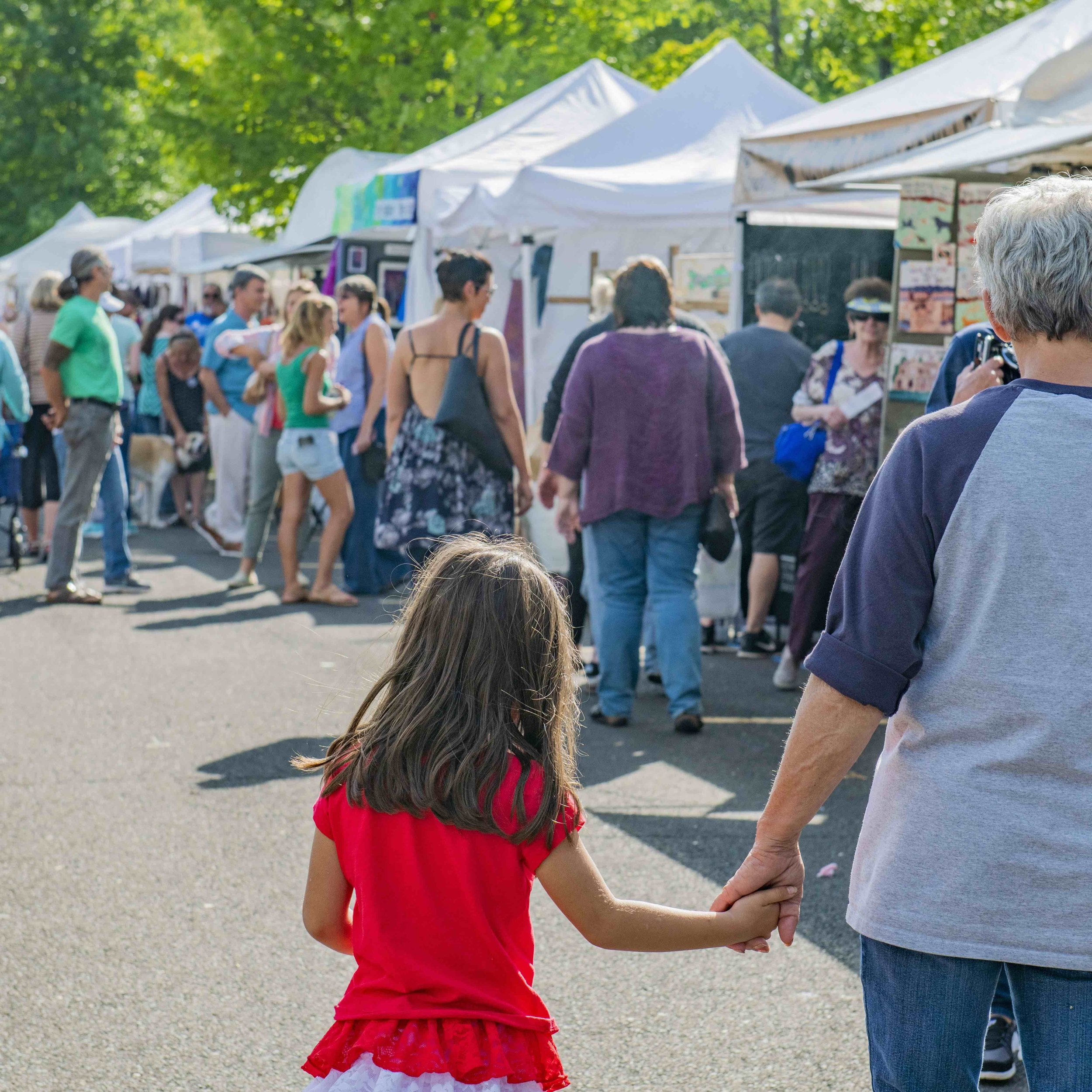 Between the fresh air and walking the picturesque setting of the New Hope Arts and Crafts Festival, families will love discovering this ideal way of exposing young people to the arts, all the while connecting unplugged! Photo Credit: Kristina Gibb