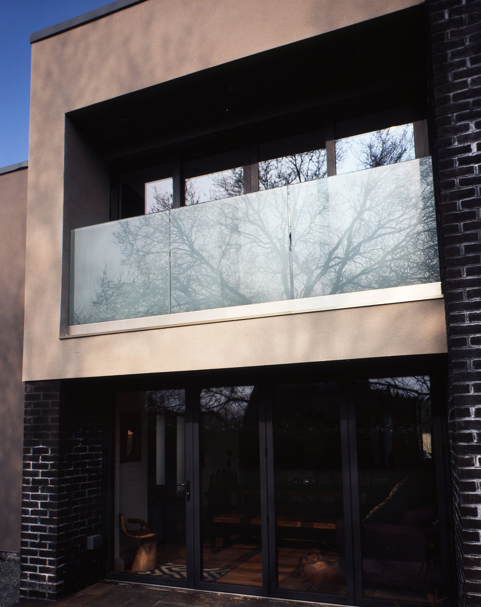 Balcony with Reflection John Wratten Architects (section of 54 transparency).
