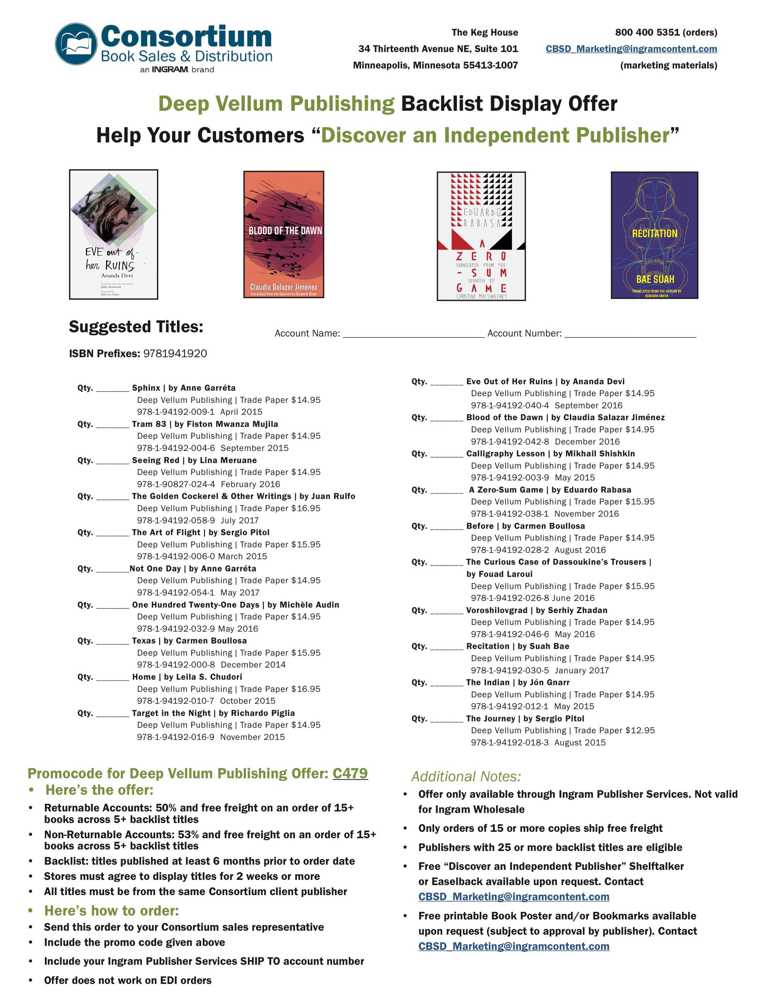 Deep Vellum Publishing