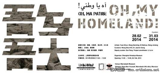 Oh My Homeland Exhibition, at the AiM Biennale Marrakech 2014
