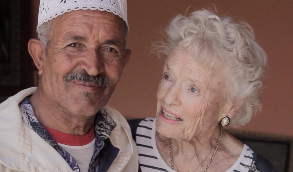 Eve Branson and the Mayor of Imska, Morocco.jpg