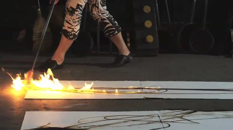 Etsuko Ishikawa in action