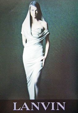 1990AW Lanvin Linda Evangelista1